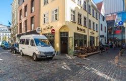 Vecchia città di Riga Fotografie Stock Libere da Diritti