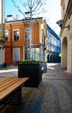 Vecchia città di Riga, Latvia Immagine Stock