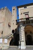 Vecchia città di Rimini Fotografia Stock