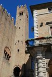 Vecchia città di Rimini Immagini Stock