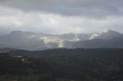 Vecchia città di Ronda in Andalusia, Spagna Immagini Stock Libere da Diritti