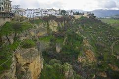 Vecchia città di Ronda in Andalusia, Spagna Immagine Stock Libera da Diritti