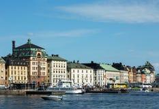 Vecchia città di Stoccolma immagine stock