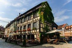 Vecchia città di Strasburgo, Francia Fotografia Stock