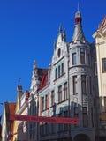 Vecchia città di Tallinn Immagine Stock Libera da Diritti