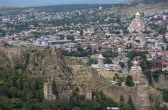 Vecchia città di Tbilisi Immagine Stock