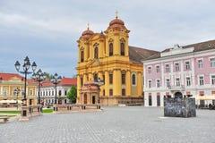 Vecchia città di Timisoara Fotografia Stock