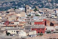 Vecchia città di Toledo, Spagna Immagini Stock