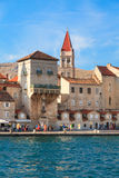 Vecchia città di Traù, Croazia Fotografia Stock Libera da Diritti