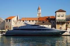 Vecchia città di Trogir, Croatia. Fotografia Stock Libera da Diritti