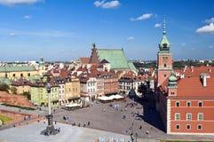 Vecchia città di Varsavia. Immagine Stock