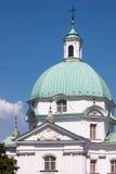Vecchia città di Varsavia in Polonia Fotografia Stock Libera da Diritti
