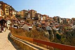 Vecchia città di Veliko Tarnovo Immagine Stock