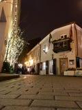 Vecchia città di Vilnius Fotografie Stock