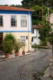 Vecchia città di Xanthi Fotografia Stock
