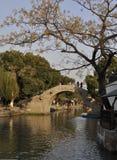 Vecchia città di Xitang Immagine Stock Libera da Diritti