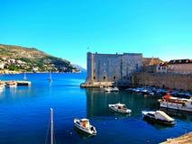Vecchia città a Dubrovnik Fotografie Stock Libere da Diritti