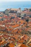 Vecchia città a Dubrovnik, Croatia fotografia stock