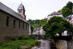 Vecchia città europea. Immagine Stock