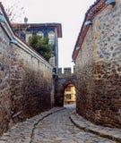Vecchia città Filippopoli, Bulgaria Fotografia Stock