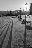 Vecchia città/Gamla Stan a Stoccolma, Svezia. Immagini Stock Libere da Diritti