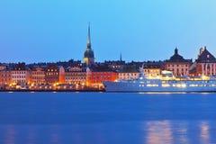 Vecchia città (Gamla Stan) a Stoccolma, Svezia Fotografia Stock Libera da Diritti