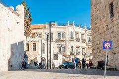 Vecchia città a Gerusalemme Immagine Stock Libera da Diritti