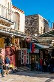 Vecchia città a Gerusalemme Fotografia Stock Libera da Diritti