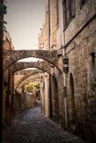Vecchia città Grecia Fotografia Stock Libera da Diritti