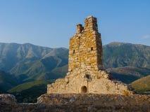 Vecchia città Himare Fotografia Stock