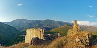 Vecchia città Himare Fotografie Stock Libere da Diritti