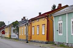 Vecchia città in Kokkola finland Fotografia Stock