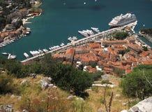 Vecchia città Kotor Fotografia Stock