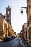 Vecchia città Laon Fotografia Stock