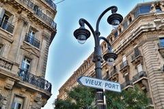 Vecchia città a Marsiglia Immagine Stock Libera da Diritti