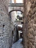 Vecchia città medioevale Immagini Stock Libere da Diritti