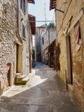 Vecchia città medioevale Immagini Stock
