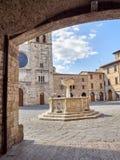 Vecchia città medioevale Fotografia Stock