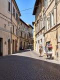 Vecchia città medioevale Immagine Stock Libera da Diritti