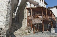 Vecchia città Melnik Fotografie Stock Libere da Diritti