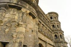 Vecchia città Mosella di Treviri del Nigra di Porta della costruzione romana Fotografie Stock