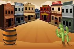 Vecchia città occidentale