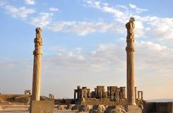 vecchia città Persepolis, Iran Fotografie Stock Libere da Diritti