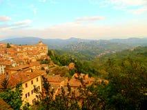 Vecchia città Perugia Immagini Stock