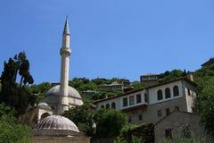 Vecchia città Pocitelj Fotografia Stock Libera da Diritti
