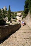 Vecchia città Pocitelj Bosnia-Erzegovina Fotografia Stock Libera da Diritti