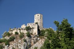 Vecchia città Pocitelj Bosnia-Erzegovina Fotografie Stock
