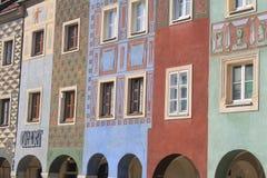 Vecchia città a Poznan, Polonia Immagine Stock