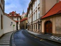 Vecchia città Praga Immagini Stock Libere da Diritti