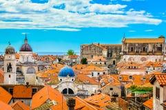 Vecchia città Ragusa, Europa Immagine Stock